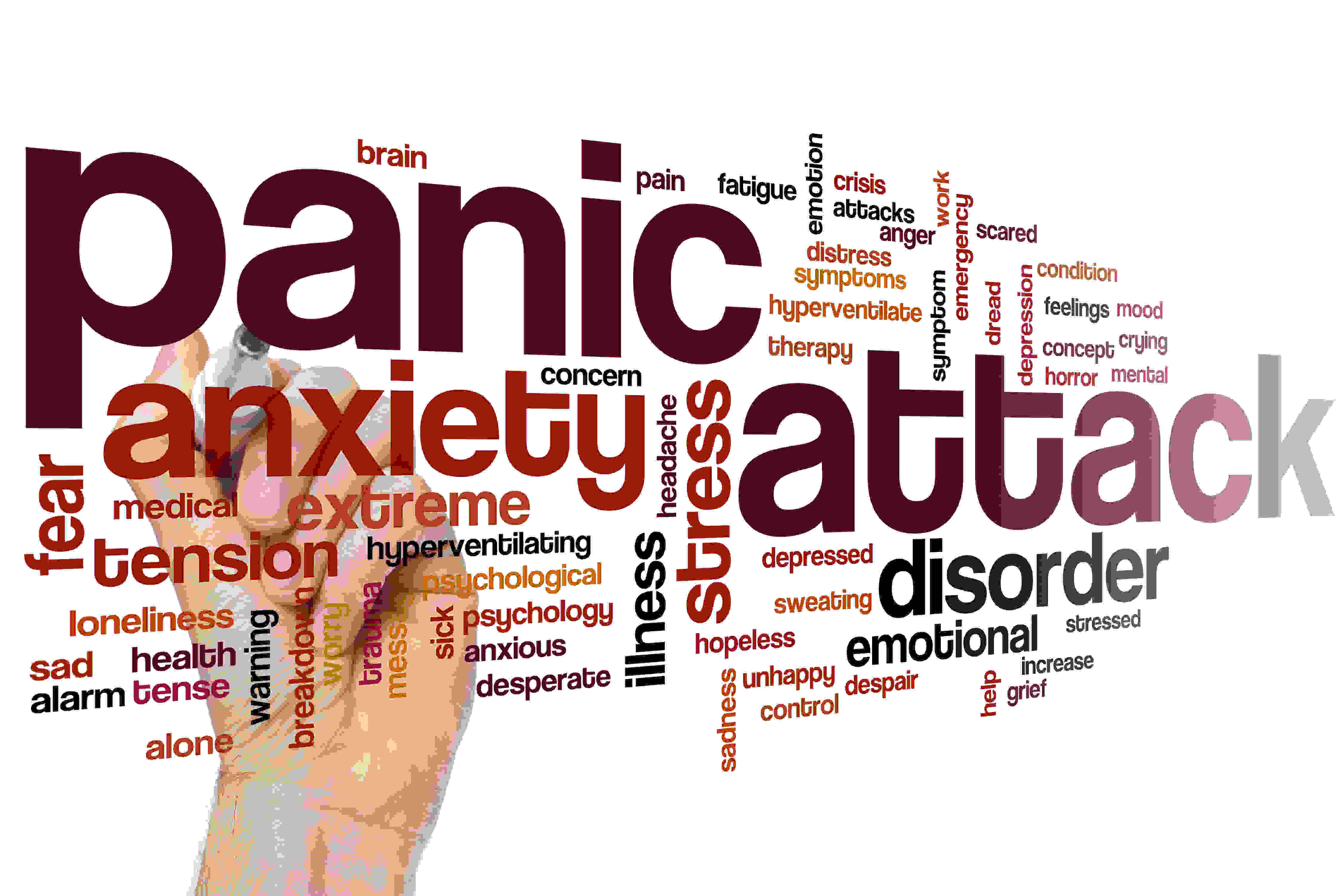 Ataque de pánico, ansiedad, estrés, obsesiones